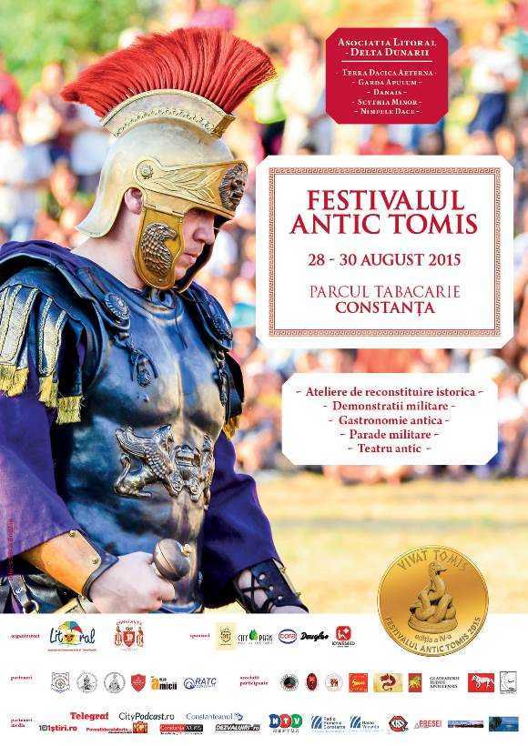Poster Festivalul Antic Tomis